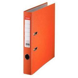 segregator a4 ekonomiczny z mechanizmem dźwigniowym 50mm, pomarańczowy marki Esselte