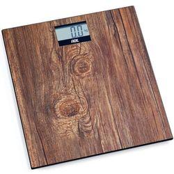 Waga łazienkowa elektroniczna do 180 kg holly drewniany wzór (ad-be 2004) marki Ade