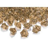 Kryształowy lód złoty - 2,5 x 2,1 cm - 50 szt. marki Ap