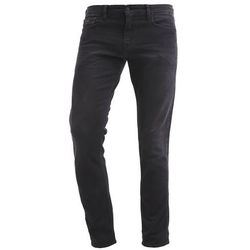 Calvin Klein Jeans SKINNY BLACK THUNDER Jeansy Slim fit black denim, kolor czarny