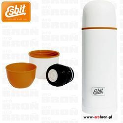 Termos polar vacuum flask 1l biały - 2 kubki marki Esbit