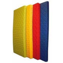 Żółty materac piankowy MEDIOLAN - 191x91x10 cm / Gwarancja 24m / NAJTAŃSZA WYSYŁKA!, OPT14598