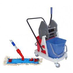 S-line Wózek 2 x 17 l dwa wiadra + mop speedy bawełna