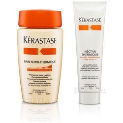 Kerastase Zestaw do włosów suchych: Kąpiel 250 + Nektar Termiczny 150ml(zestaw) ze sklepu Estyl.pl