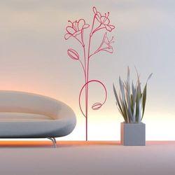 Wally - piękno dekoracji Szablon malarski kwiaty 0997