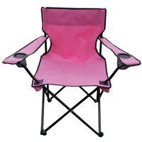 Krzesełko wędkarskie Oxford, różowy