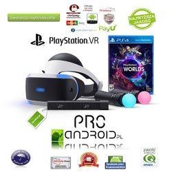 Okulary VR Sony Playstation VR ZESTAW STARTER KIT PS VR+PS MOVE+PS EYE+GRA!! - sprawdź w wybranym