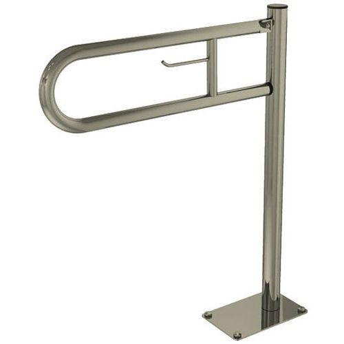 Poręcz dla niepełnosprawnych stojąca uchylna z uchwytem na papier SNM z kategorii pozostałe artykuły hydr