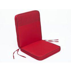 Poduszka bangkok - czerwony - 97x47 cm marki Hobbygarden