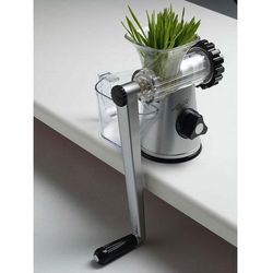 Ręczna wyciskarka soku  healthy juicer 3g srebrna - model 2013, marki Lexen