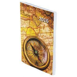 Kalendarz A7 kieszonkowy PCV bezbarwna MIX 2017 z kategorii Kalendarze