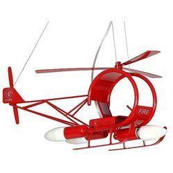 Lampa wisząca dziecięca Helikopter 3xE14/60W czerwona - sprawdź w wybranym sklepie