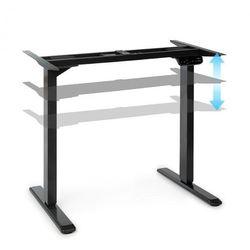 multidesk comfort, biurko z elektryczną regulacją wysokości, czarny marki Oneconcept
