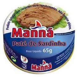 Portugalska pasta z sardynek łagodna 65g , marki Manná