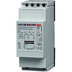 Grothe Transformator dzwonkowy  14201 gt 3148, 230v/8v ac, 1a, na szyne din