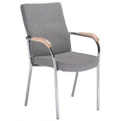 Krzesło LOCO II - do poczekalni i sal konferencyjnych, konferencyjne, na nogach, stacjonarne