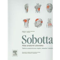 Atlas anatomii człowieka Sobotta. Tablice anatomiczne mięśni, stawów i nerwów, pozycja wydawnicza