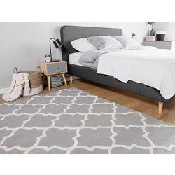 Beliani Dywan szary - 160x230 cm - nowoczesny - handmade - bawełna - silvan (7105275954362)