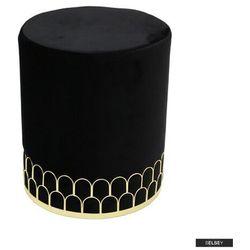 pufa soyel velvet czarna marki Selsey