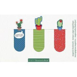Magnetyczne zakładki do książek - kaktusy marki Dvd podróże marzeń