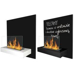 Globmetal Biokominek z tablicą board 45x47 cm - - 2 kolory