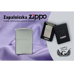 Zapalniczka Zippo Satin Chrome z kategorii gadżety