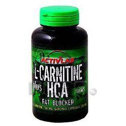 ActivLab L-Carnitine plus HCA 50 kaps. L-karnityna i Garcinia - produkt z kategorii- Spalacze tłuszczu