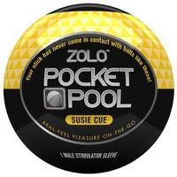 Masturbator podręczny - Zolo Pocket Pool Susie Cue