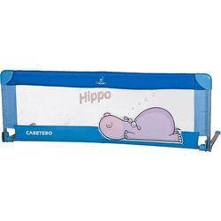 Bariera ochronna CARETERO do łóżka Safari Hippo niebieski + DARMOWY TRANSPORT! ()