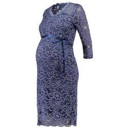 MAMALICIOUS MLMIVANA Sukienka letnia vintage indigo