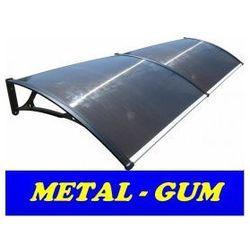 Metal-gum Daszek zadaszenie systemowe drzwi alu 200x80