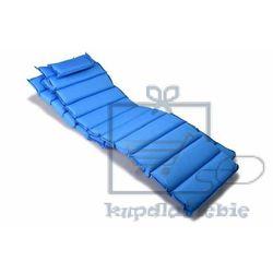 Divero Komplet 2 x poduszka garthen na leżak niebieska