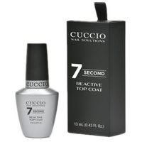 reactive top coat 7 seconds top nabłyszczający 7 sekund (13 ml) marki Cuccio