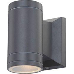 Kinkiet LAMPA elewacyjna GANTAR 32028 Globo zewnętrzna OPRAWA ścienna do ogrodu IP44 outdoor tuba grafitowa, 32028