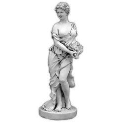 Figura ogrodowa betonowa kobieta z muszlą 138cm