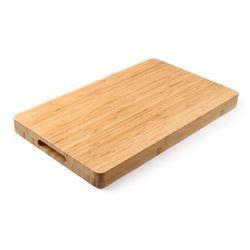Hendi Deska drewniana bamboo, 500x350 mm, z uchwytami   , 506936