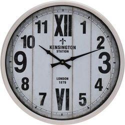 Zegar ścienny Kensington Station w metalowej oprawie, Ø 51 cm (8719202563030)