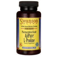 Swanson AjiPure L-Proline 500mg 60 kaps.