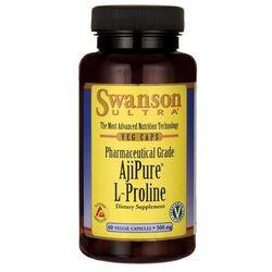 Swanson ajipure l-proline 500mg 60 kaps. wyprodukowany przez Swanson, usa