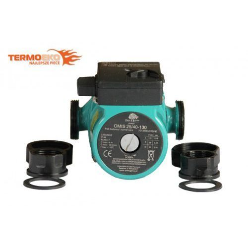 Pompa cyrkulacyjna obiegowa co solary omis 25-60/130 + śrubunki!!! wyprodukowany przez Omnigena