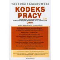 Kodeks pracy 2010 + zakładka do książki GRATIS