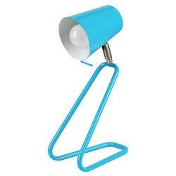Rabalux Stojąca lampa stołowa olaf 5778 dziecięca lampka biurkowa metalowa niebieski