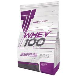 Trec Whey 100 - 2275g - czekolada kokos (odżywka białkowa)