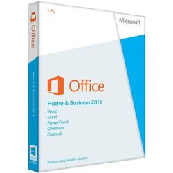 office 2013 home and business 3 pc od producenta Microsoft