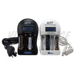 Ładowarka GJT do baterii alkalicznych i akumulatorów AA AAA, towar z kategorii: Ładowarki i zasilacze