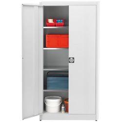 Szafa magazynowa, wys. x szer. 1950x950 mm, gł. 420 mm, obudowa i drzwi jasnosza