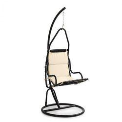 serramazzoni eggchair, fotel wiszący poduszka na siedzisko, kremowy marki Blumfeldt