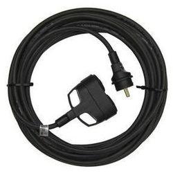 Przedłużacz EMOS 2x zásuvka, 50m Czarny