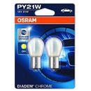 OSRAM PY21W 12V 21W BAU15s DIADEM® CHROME