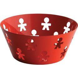 Alessi kosz okrągły ze stali nierdzewnej czerwony, średni (akk04 o) darmowy odbiór w 21 miastach!